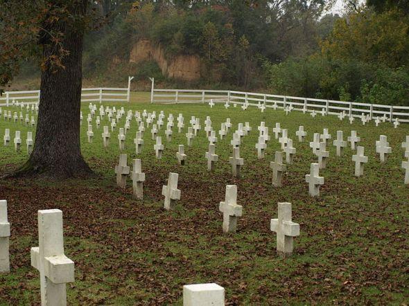 Angola cemetery